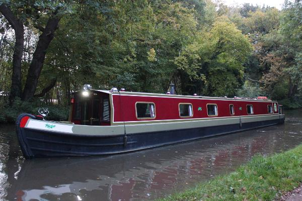 Narrowboat 69' Pro-Build Cruiser Stern 69ft Narrowboat