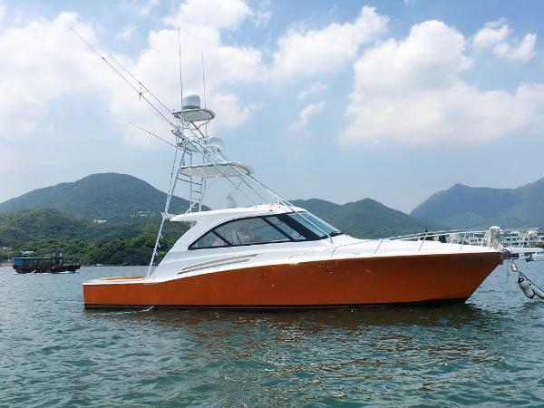 Hatteras 45 Express Sportfish Hatteras 45 Profile
