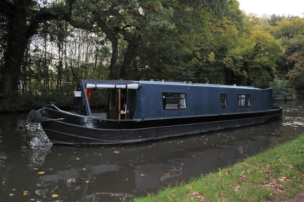 Narrowboat 40' Eggbridge Cruiser Stern