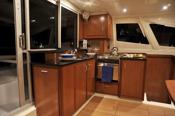 Leopard 44 Galley