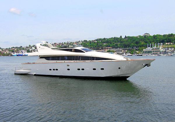 Antago Pilothouse Motoryacht Exterior Profile - 92 Antago Italia Yacht