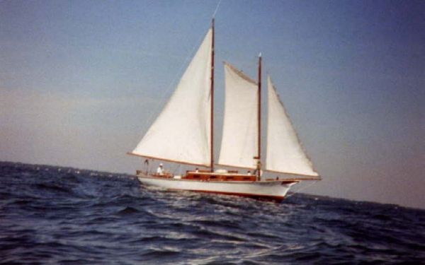 34' Custom Built Gaff Rigged Schooner /Designed in 1927