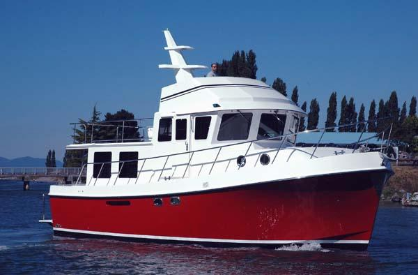 American Tug 435 Hull #09 Factory Direct Flybridge model