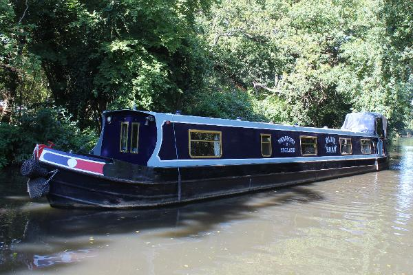 Narrowboat 57' Dave Clarke Cruiser Stern Dave Clarke 57' Narrowboat