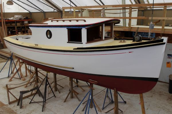 Forest Service Boat H C Northwest School of Wooden Boatbuilding
