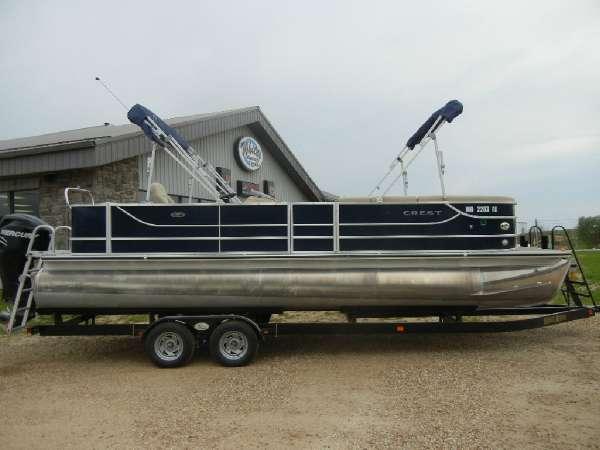 Crest Pontoon Boats Crest II 250