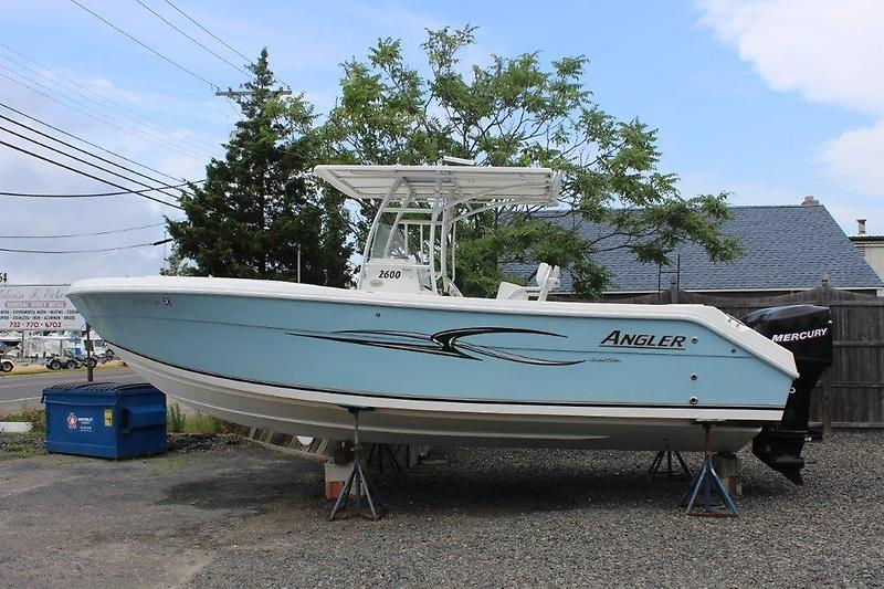 2007 angler boats 2600 cc point pleasant new jersey for Fishing boats point pleasant nj