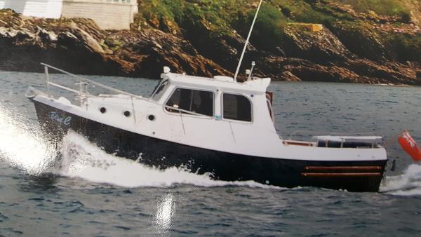 Trusty T 23 Motor launch. Trusty T 23