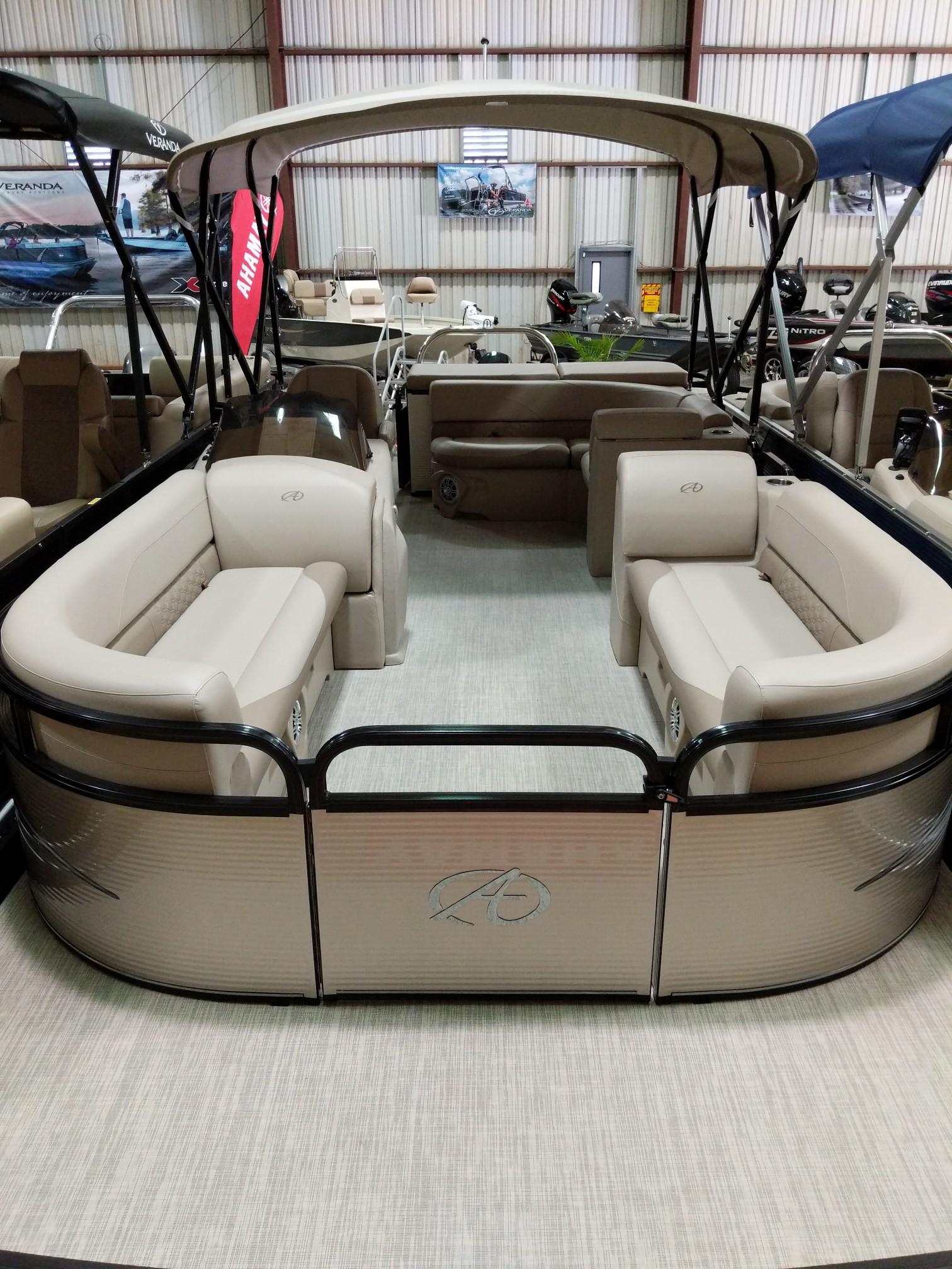 Avalon GS 2385 Cruise Tritoon w/ Suzuki 140 4-stroke