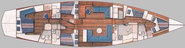 drawing of interior