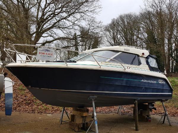Aquador 22 Wintering ashore 2020.