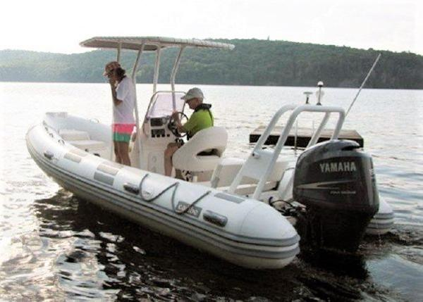 Caribe UB20 RIB with Trailer