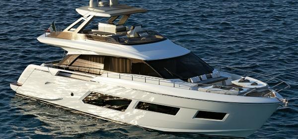Ferretti Yachts 670 Manufacturer Provided Image: Ferretti Yachts 670 Project