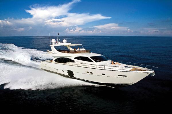 Ferretti Yachts 780 2008 Ferretti 780 - Profile