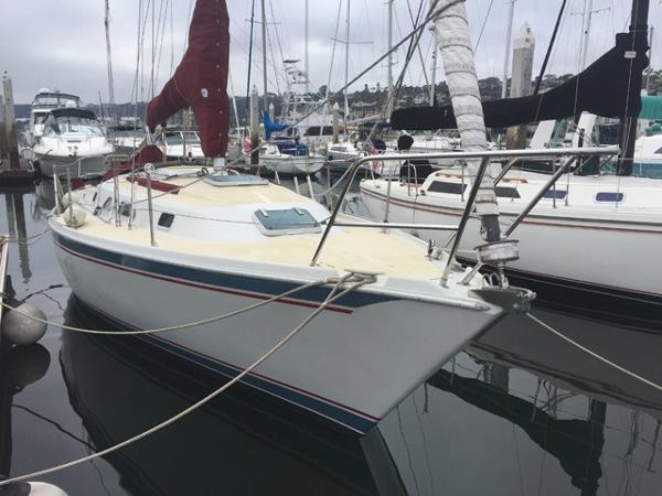 Ericson 32 Docked