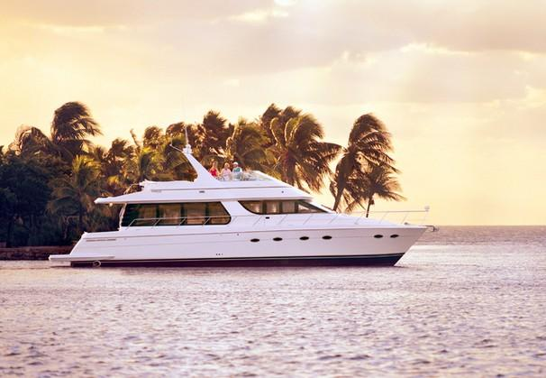 Carver 570 Voyager Pilothouse Manufacturer Provided Image: 570 Voyager Pilothouse