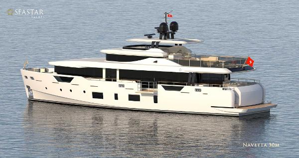 Custom Navetta 100 Seastar