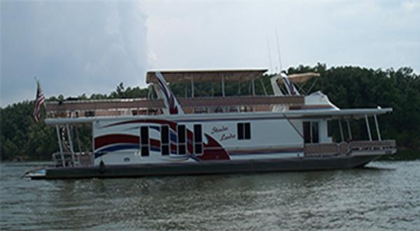 Sharpe 75 x 16 Houseboat Main View