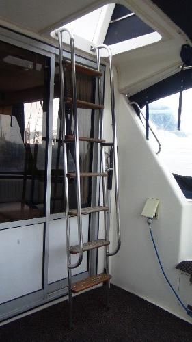 Ladder to Upper Deck