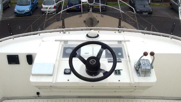Upper Deck Steering Position