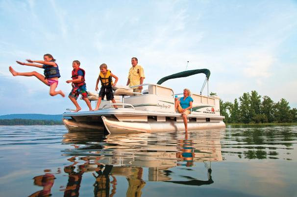 Sun Tracker PARTY BARGE 20 Classic Series