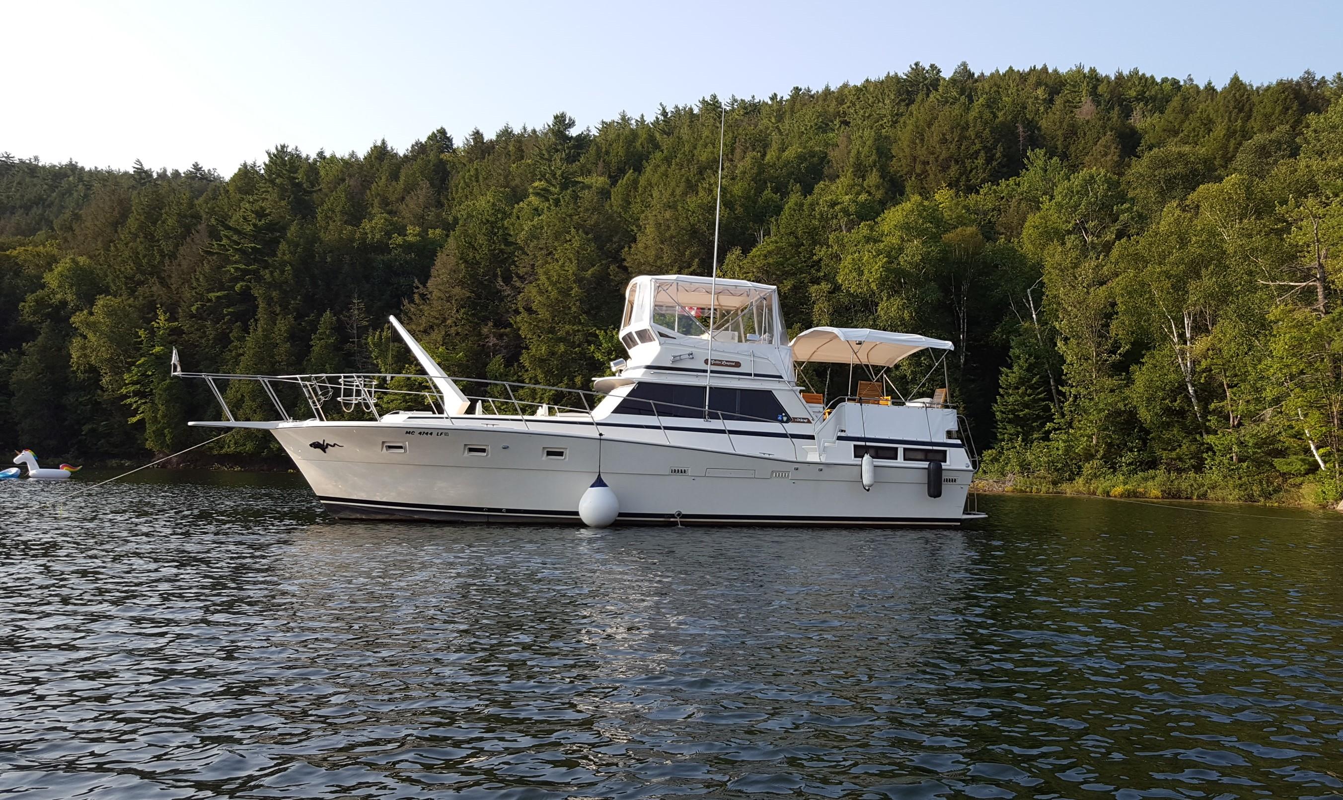 Viking 43 Double Cabin Motor Yacht Viking 1980 43 Double Cabin