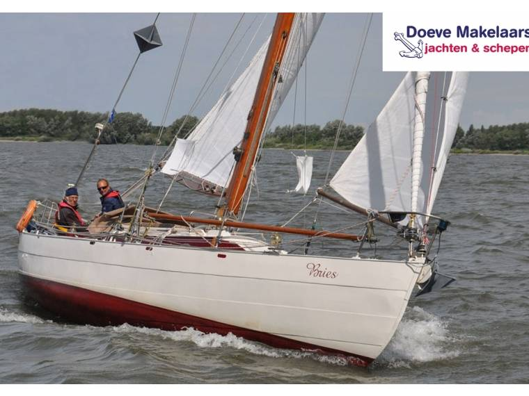 Classic Canoe Stern sailing yacht 10.31
