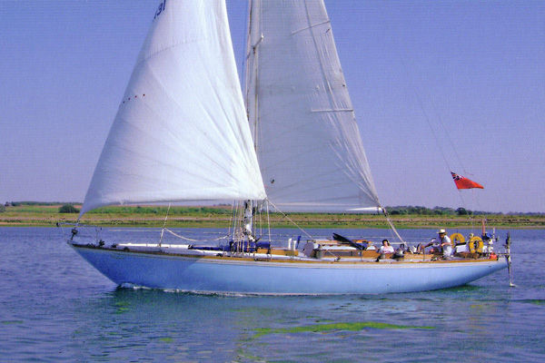 Holman 48 Sailing