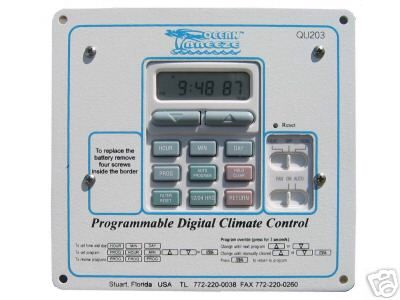 Climate Control Panel