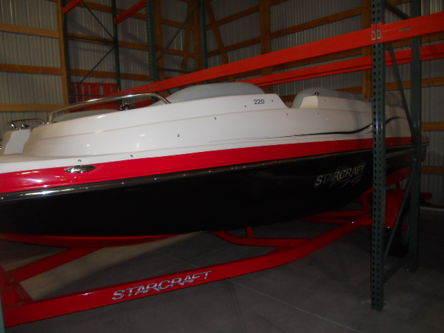 Starcraft Deckboat Star Step 220 I/O