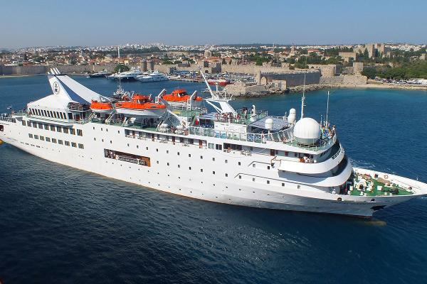 Cruise Ship, 282 Passenger -Our Stock No. S2416