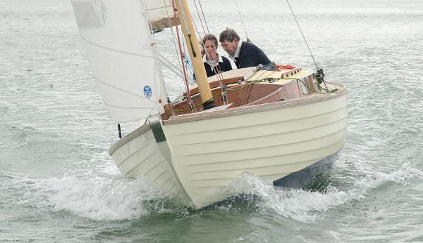 Folkboat Classic Wooden Cruiser Folkboat