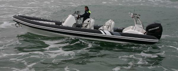 Cobra Ribs Nautique 9.0m Side View
