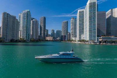 Leopard Express Motor Yacht Aerial 1