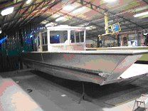 Custom 40' Aluminum Landing Craft