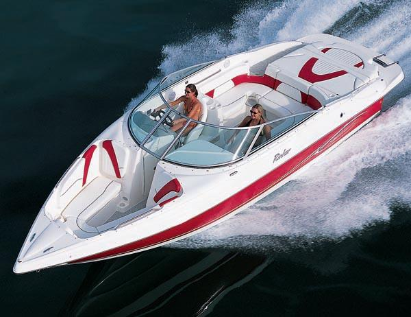 Rinker 232 Captiva Bowrider Manufacturer Provided Image: Model 262 Captiva Bowrider shown.