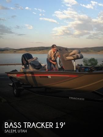 Bass Tracker Pro Team 195 TXW 2016 Bass Tracker Pro Pro Team 195 TXW for sale in Salem, UT