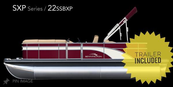Bennington 22 SSBXP TRIPLE-TOON