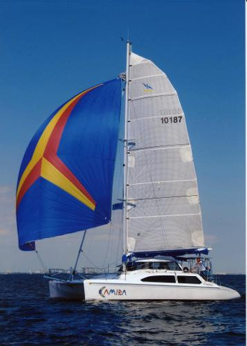 Seawind 1000XL #359 Under Sail 01