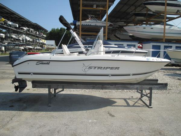 Seaswirl Striper 1851 CC Starboard View