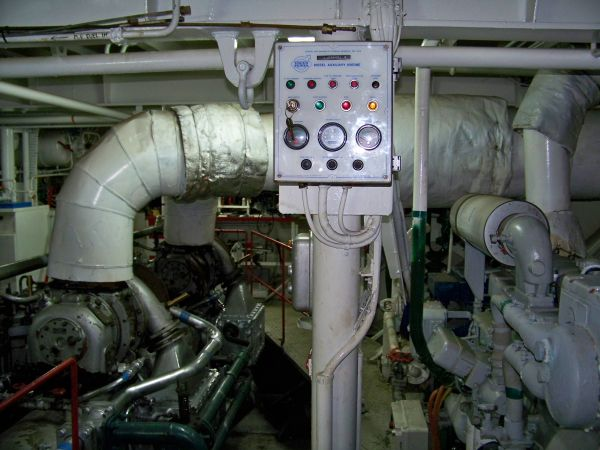 More Engine Room Detail