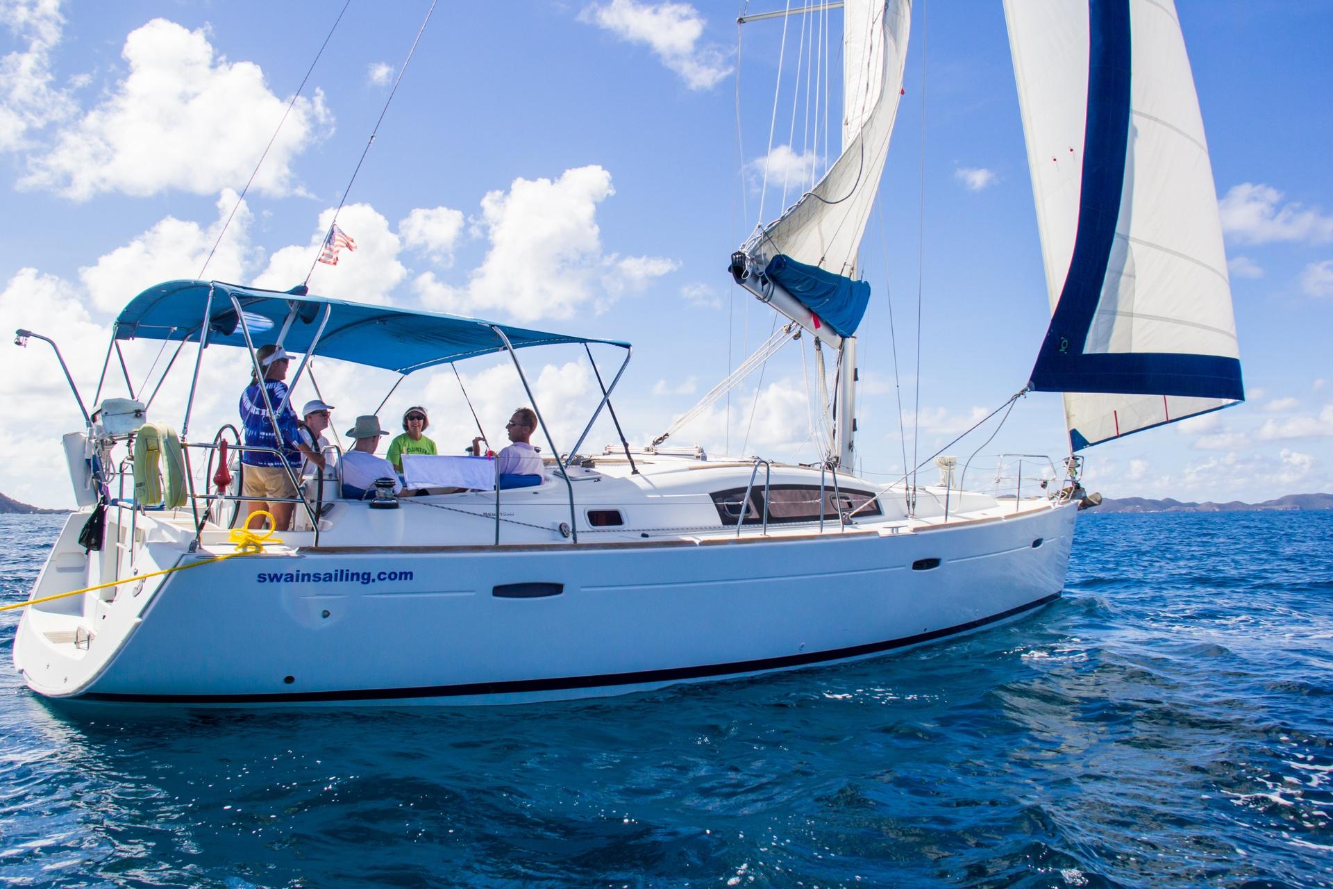 Beneteau 43 No Regrets Sailing
