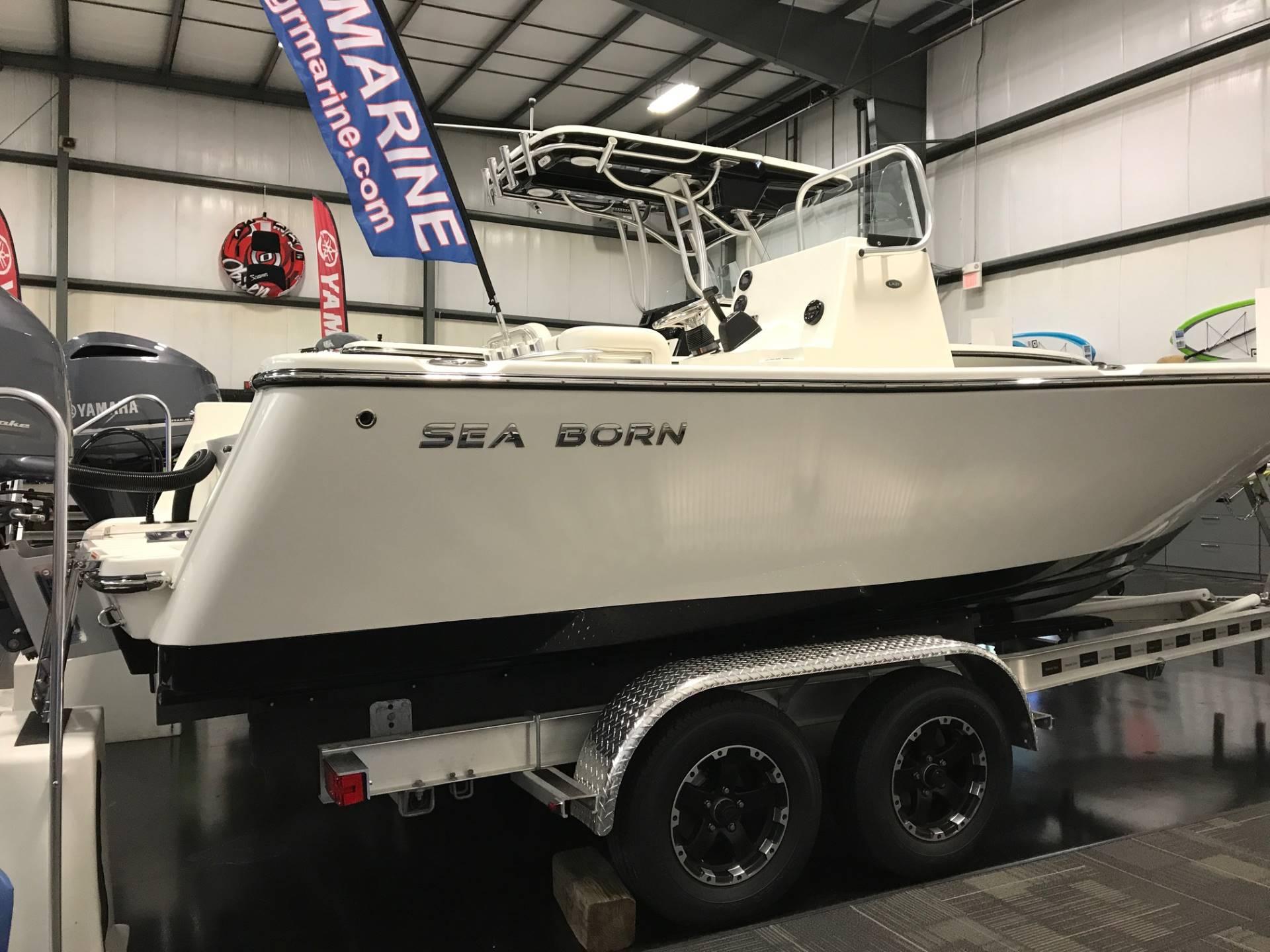 Sea Born LX21 Center Console