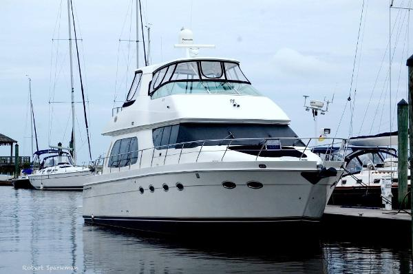 Carver 56 Voyager Bow To