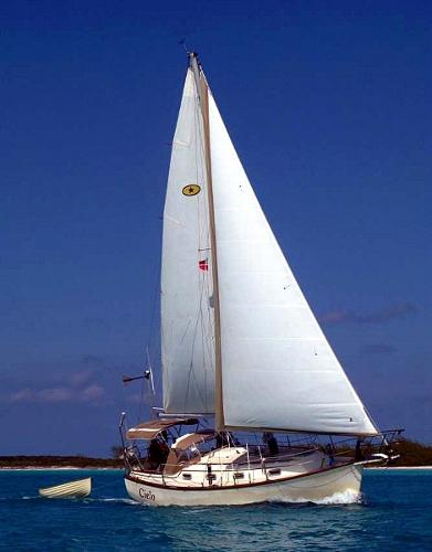 Island Packet Sloop