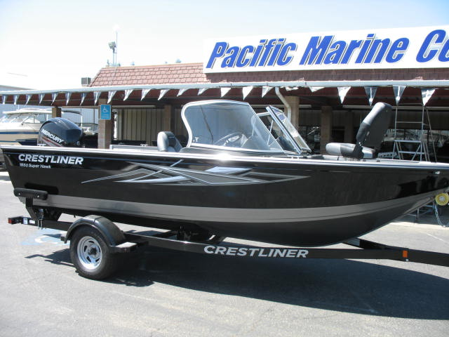 Crestliner 1850 Super Hawk-Mercury 150hp