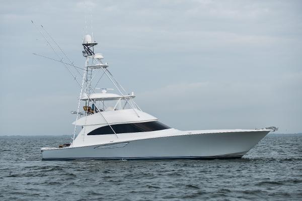 Viking 66' Convertible Starboard Profile