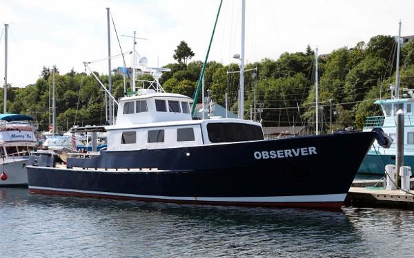 Custom Blount Marine Research Vessel Profile