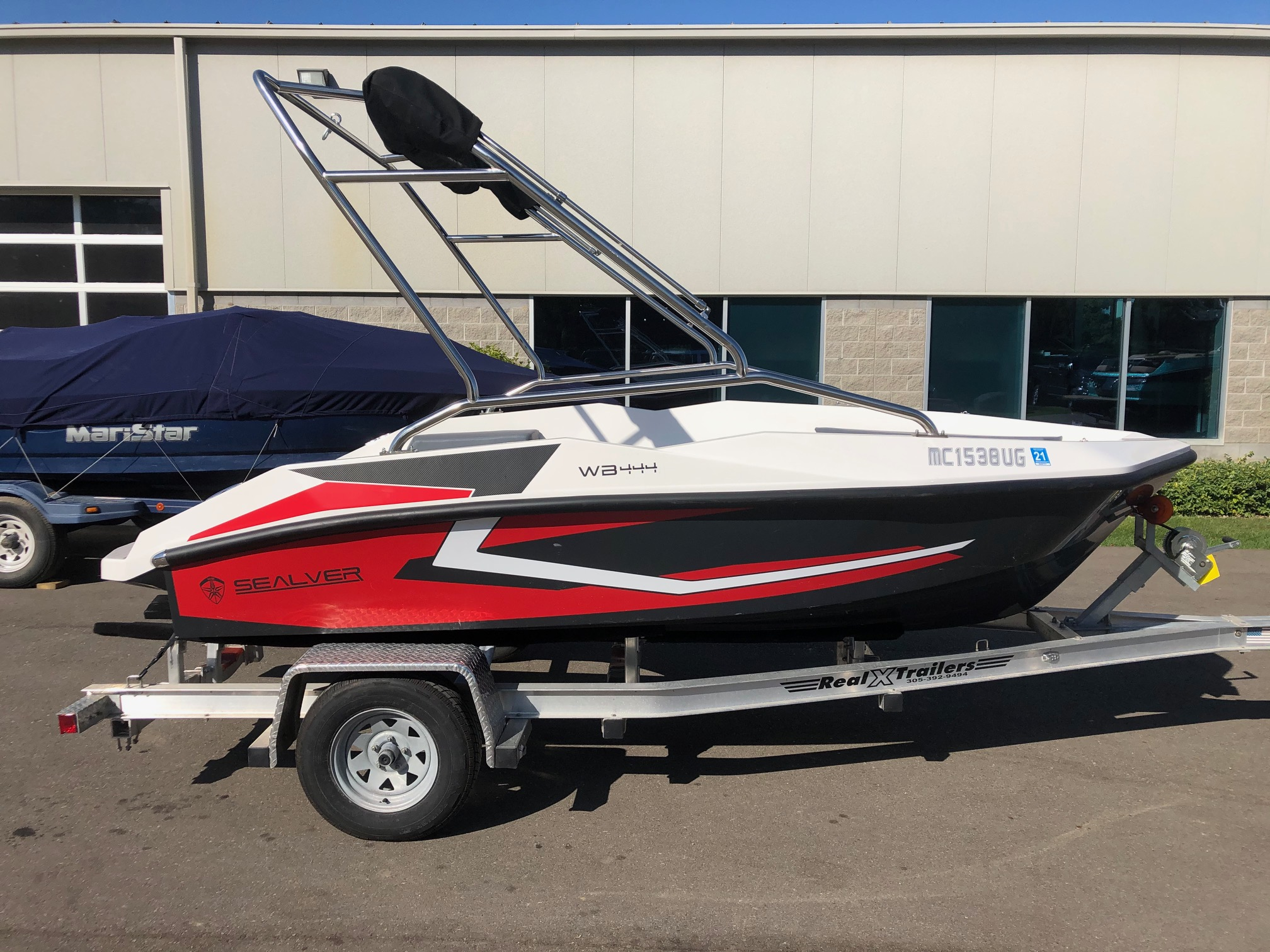 Sealver Wakeboat 444