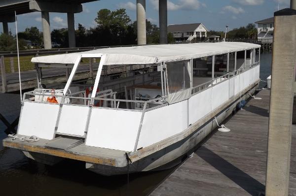SeaArk 54 Catamaran